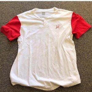 Huf Henley tee shirt